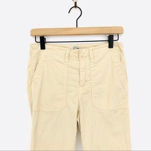 J. Crew Pants - J.Crew Skinny Stretch Zipper Cargo Pant Size 27
